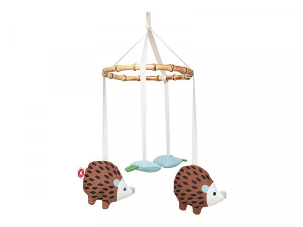 Franck & Fischer Baby Mobile - Igel dunkel
