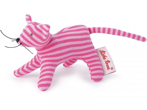Käthe Kruse 0178400 Mini Greifling Katze Katzengreifling Ringel rosa