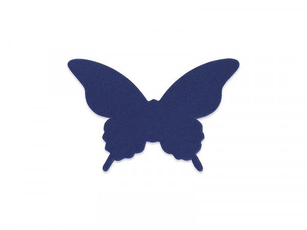Elfenstall 3D Papier Wandsticker Schmetterling 20 Stück Farbe Royalblau