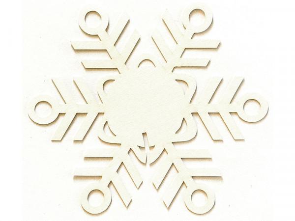 Elfenstall Namenskärtchen 10 Stück Eisblume Weiß
