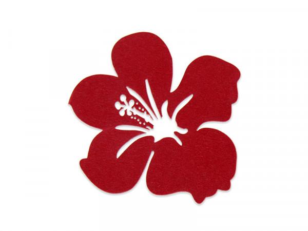 Elfenstall Namenskärtchen 10 Stück Blume Rot