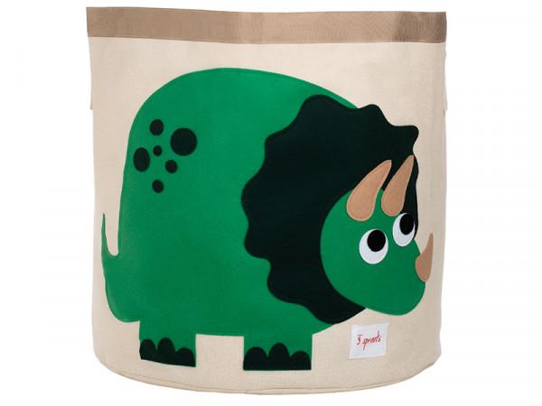 3 Sprouts Aufbewahrungskorb Spielzeugaufbewahrung Spielzeugkorb Dino