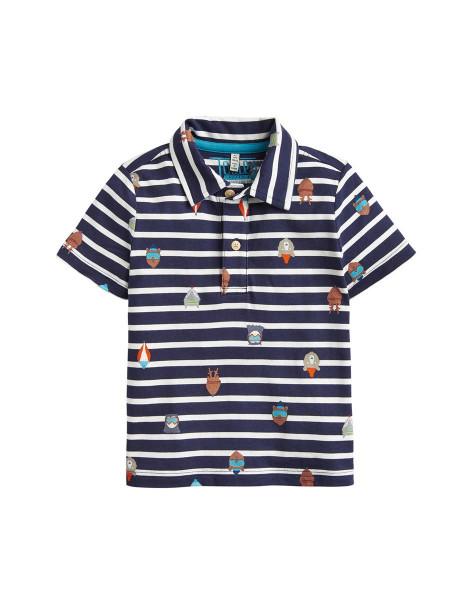 Tom Joules Poloshirt T-Shirt Young Herbie blau 4 Jahre