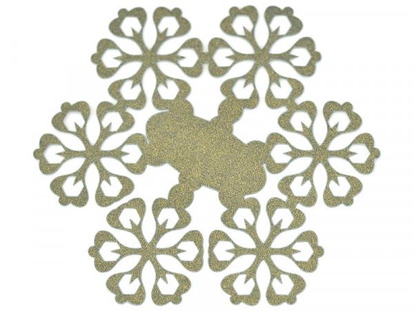 Elfenstall Namenskärtchen 10 Stück Schneeblume Grün