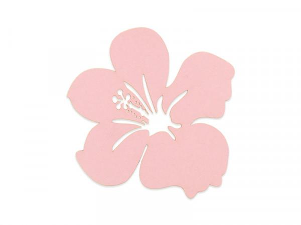 Elfenstall Namenskärtchen 10 Stück Blume Rosa/Pink