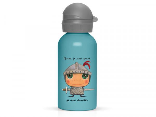 Label'tour Trinkflasche Wasserflasche für Kinder Ritter