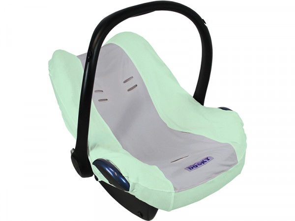 Dooky Sitzbezug für Babyschale in Mint Grau