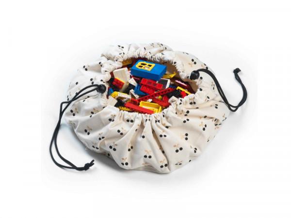 Play & Go Spielzeugsack Aufbewahrungssack Kirsche Cherry mini