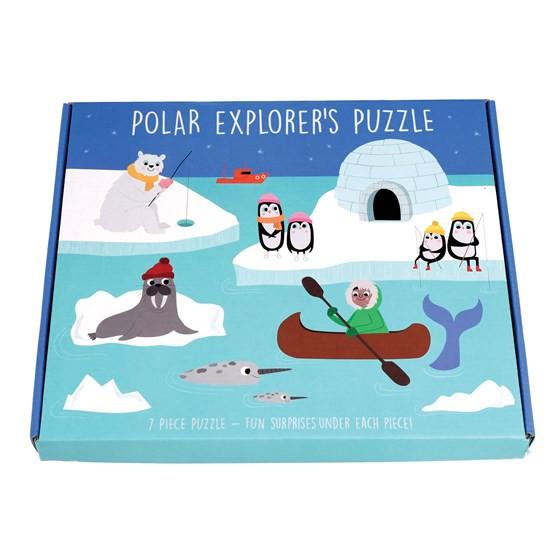 Schönes Bilderpuzzle Polar Expedition