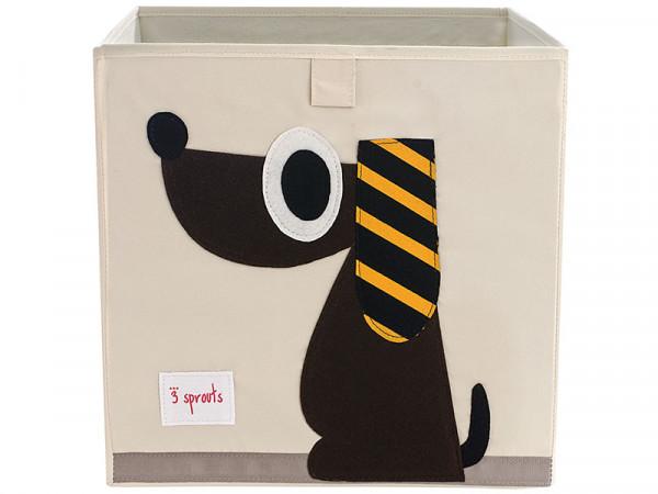 3 Sprouts Aufbewahrungsbox Regalbox Motiv Hund