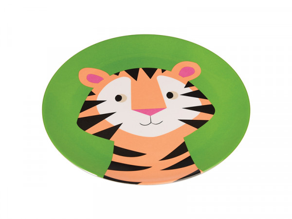 Rex International Kinder Melaminteller Motiv Tiger