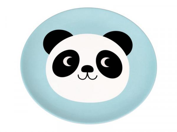 Rex International Kinder Melaminteller Motiv Panda Miko