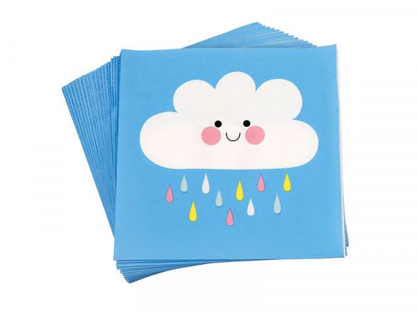 Rex International Kinder Papierservietten Happy Cloud, 20 Stück